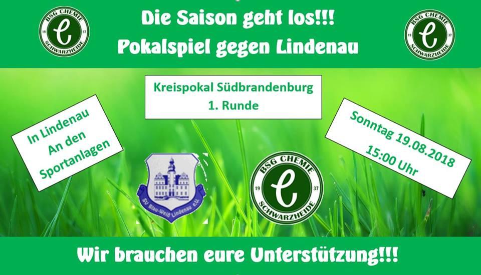 Saisonauftakt gegen Blau-Weiß Lindenau