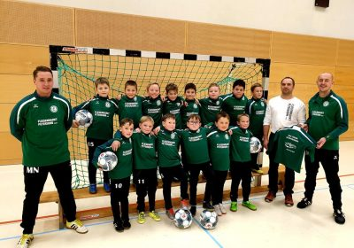 Neue Trainingsanzüge für unsere F-Junioren
