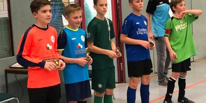 D-Junioren werden Dritter – Erno May bester Spieler