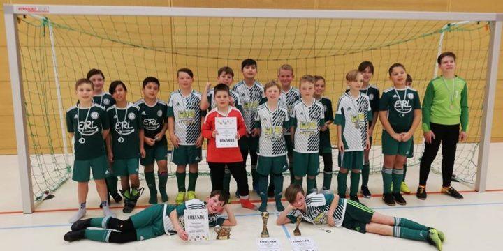 E-Junioren erkämpfen sich den zweiten Platz