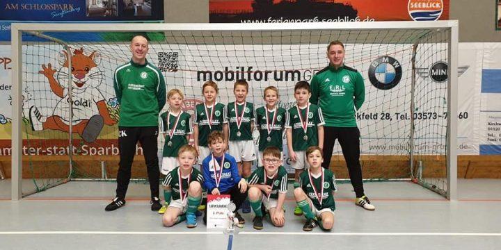 Platz 2 für unsere F-Junioren