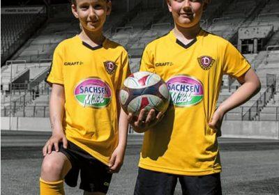 Dynamo Dresden Fussballschule zu Gast in Schwarzheide