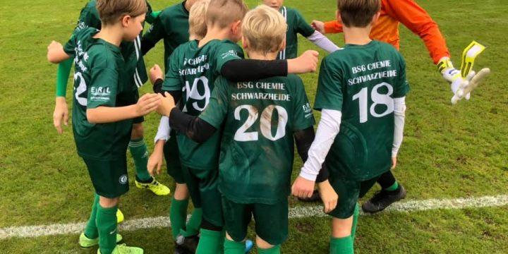 Bitter / Stolzes Pokal Aus für unsere D – Junioren nach Ihrem besten Saisonspiel!