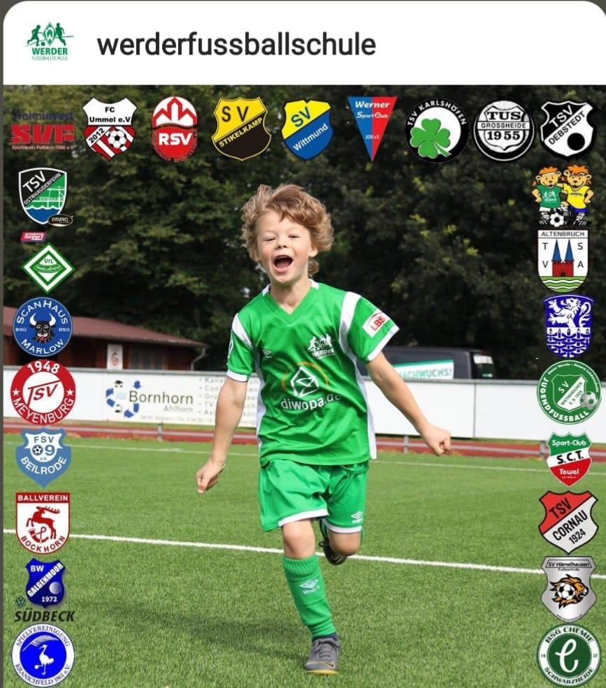 Chemie-Kids bei der CAMPontour des SV Werder Bremen